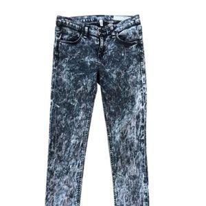 RAG & BONE Acid washed Skinny jeans Size 27
